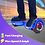 Thumbnail: 6.5'' Hoverboard with LED Lights and Bluetooth for Kids (Chrome Blue)