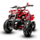 Thumbnail: Sonora 40CC 4-Stroke Gas ATV Four Wheeler Quad for Kids (No CA Sales), Red Flame