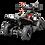 Thumbnail: SaharaX 40CC 4-Stroke Gas ATV Four Wheeler Quad for Kids (No CA Sales), Red