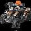 Thumbnail: SaharaX 40CC 4-Stroke Gas ATV Four Wheeler Quad for Kids (No CA Sales), Orange