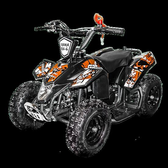 SaharaX 40CC 4-Stroke Gas ATV Four Wheeler Quad for Kids (No CA Sales), Orange