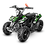 Thumbnail: SaharaX 40CC 4-Stroke Gas ATV Four Wheeler Quad for Kids (No CA Sales), Green
