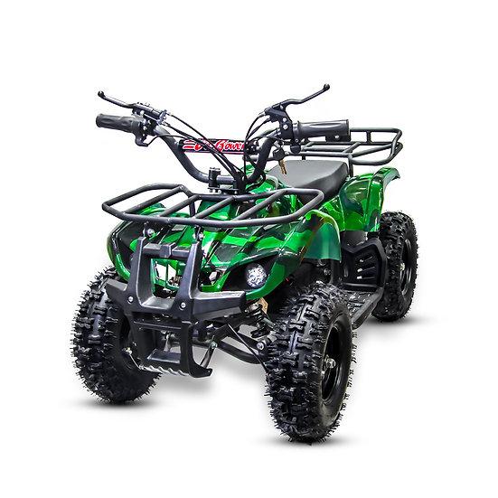 350W 24V Sonora Electric ATV Mini Quad Four Wheeler for Kids (Green Camo)