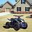 Thumbnail: 350W 24V Titan Electric ATV Mini Quad Four Wheeler for Kids (Blue)