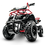Thumbnail: Sonora 40CC 4-Stroke Gas ATV Four Wheeler Quad for Kids (No CA Sales), Red
