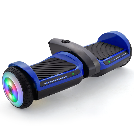 6.5'' Hoverboard with Mist Spray, Sound, and Built-in Bluetooth (Blue)