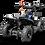 Thumbnail: SaharaX 40CC 4-Stroke Gas ATV Four Wheeler Quad for Kids (No CA Sales), Blue