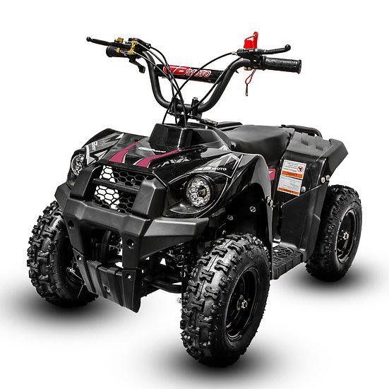 Monster 40CC 4-Stroke Gas ATV Four Wheeler Quad for Kids (No CA Sales), Pink