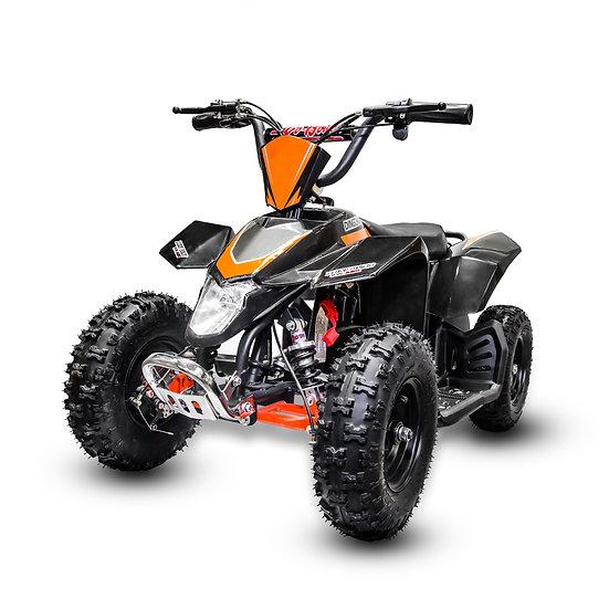 350W 24V SaharaX Electric ATV Mini Quad Four Wheeler for Kids (Black)