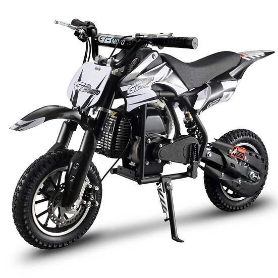 2-Stroke 49CC Kids Gas Dirt Bike (EPA Registered, NO CA sales), Black