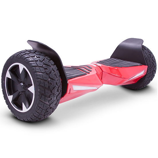 8.5'' Hoverboard with Built-in Bluetooth for Kids and Adults (Red)