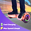 Thumbnail: 6.5'' Hoverboard with LED Lights and Bluetooth for Kids (Chrome Rose Gold)