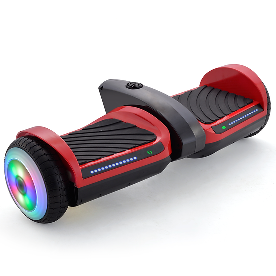 6.5'' Hoverboard with Mist Spray, Sound, and Built-in Bluetooth (Red)