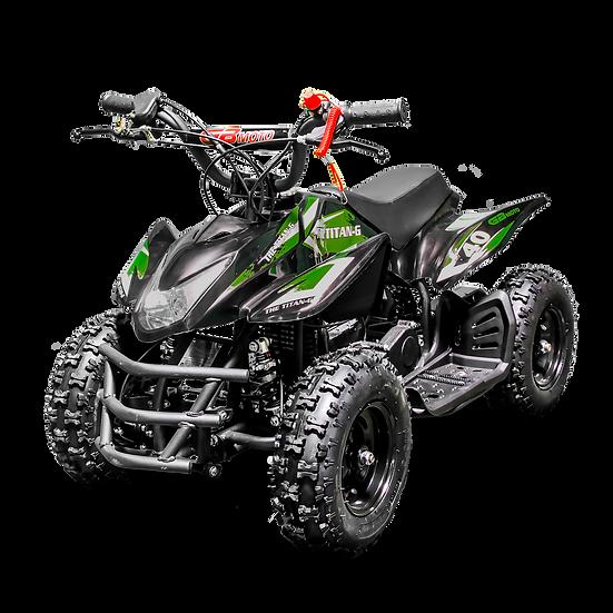 Titan 40CC 4-Stroke Gas ATV Four Wheeler Quad for Kids (No CA Sales), Green