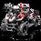 Thumbnail: Titan 40CC 4-Stroke Gas ATV Four Wheeler Quad for Kids (No CA Sales), Red