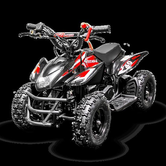 Titan 40CC 4-Stroke Gas ATV Four Wheeler Quad for Kids (No CA Sales), Red