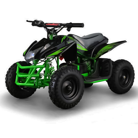 350W 24V Titan Electric ATV Mini Quad Four Wheeler for Kids (Green)