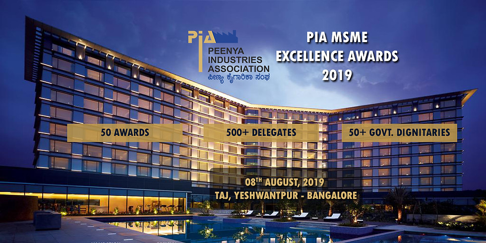 PIA MSME EXCELLENCE AWARDS 2019