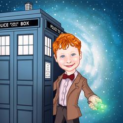 Dr Who Portrait