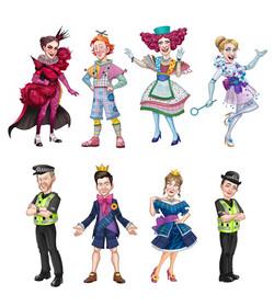 Pantomime Cast