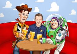Toy Story Portrait