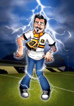Lightning Strikes Portrait