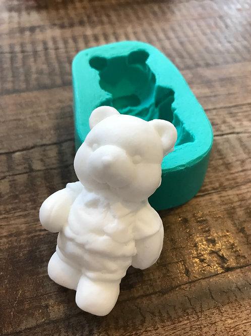 Molde de Silicone - Ursinho Simpático