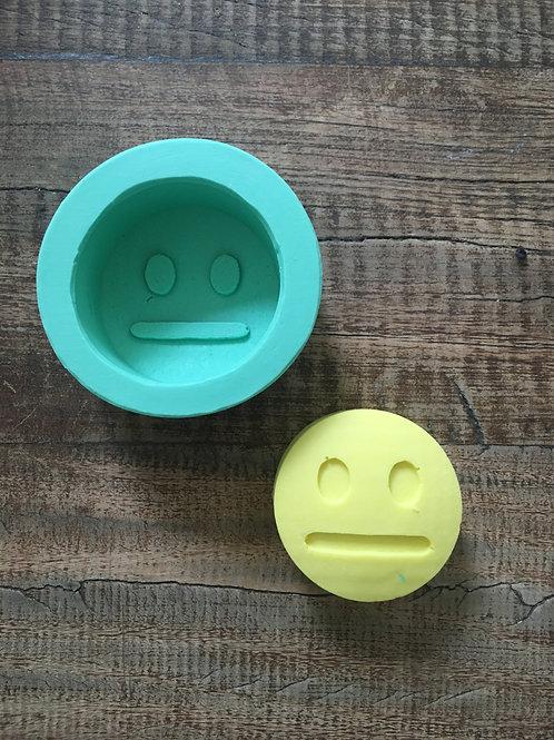Molde de Silicone - Emoticon Sem Palavras
