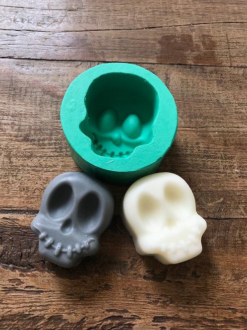 Molde de Silicone - Caveirinha Halloween
