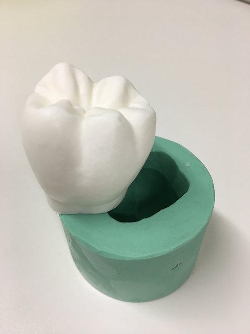 Molde de Silicone - Dente Molar