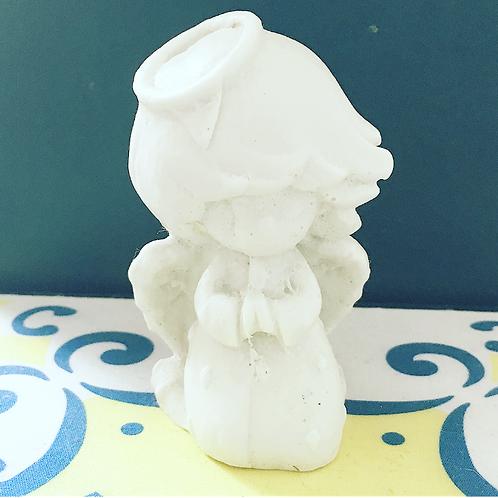 Molde de Silicone para sabonetes artesanais- Anjo Querubim