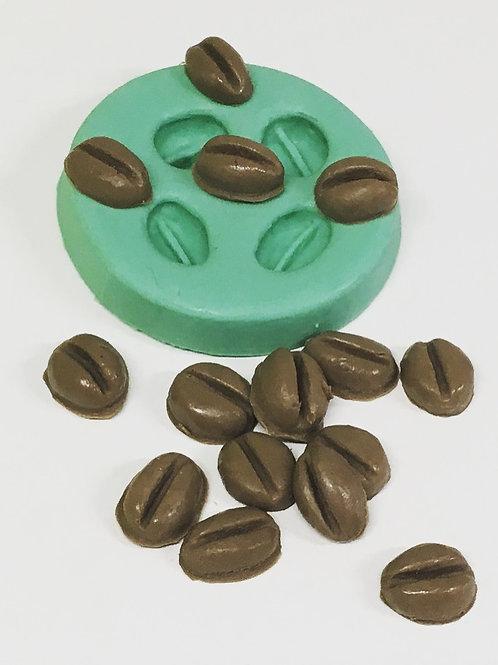Molde de Silicone - Café 4 cavidades