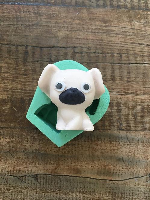 Molde de Silicone - Pug