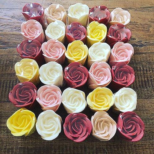 Sabonete de Rosas Coloridas