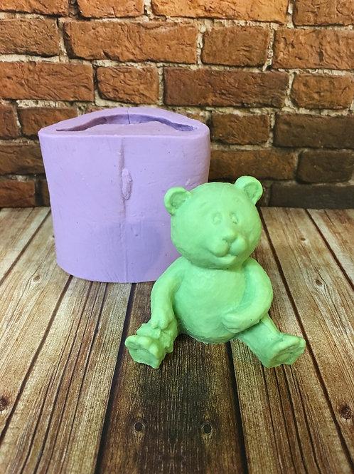 Molde de Silicone - Urso Sentado
