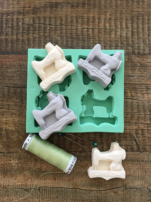 Molde de Silicone - Máquina de Costura