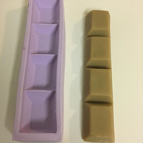 Molde de Silicone -Barra de Chocolate