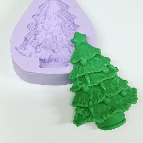 Molde de Silicone - Arvore de Natal
