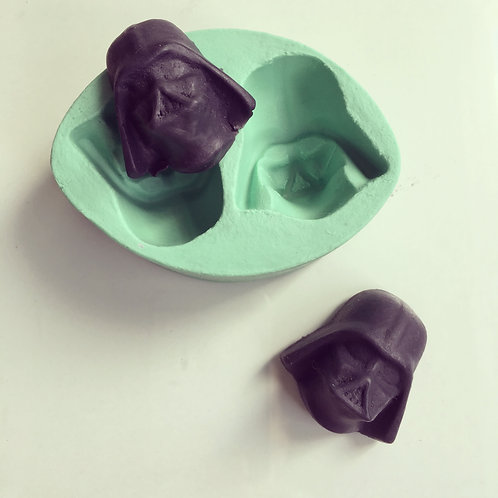 Molde de Silicone - Darth V.