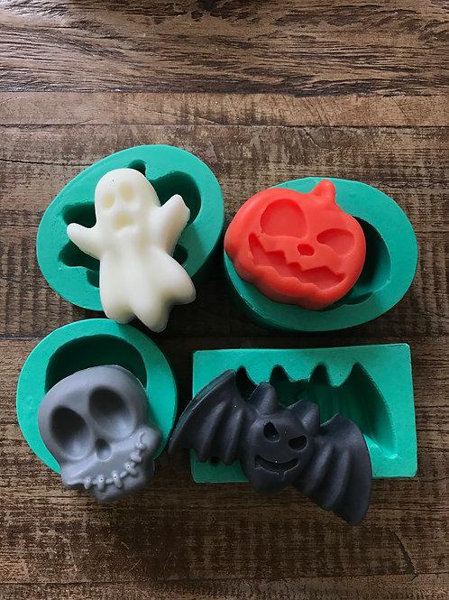 Molde de Silicone - Kit Halloween
