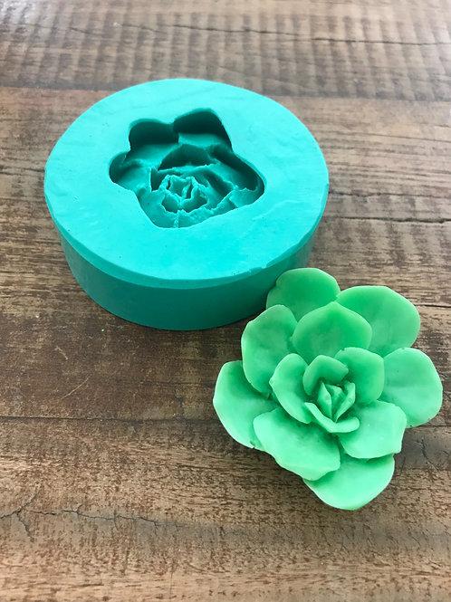 Molde de Silicone - Rosa Mini do Havaí