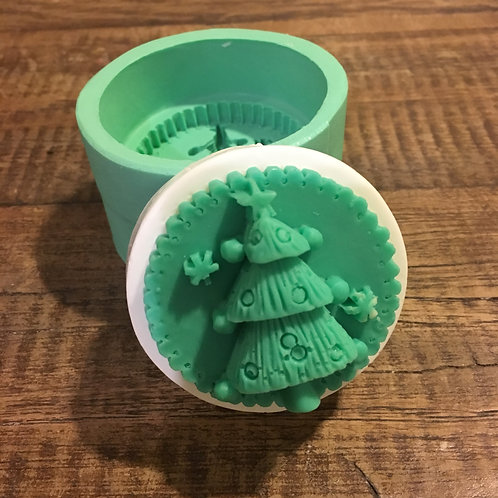 Molde de Silicone - Pinheiro de Natal
