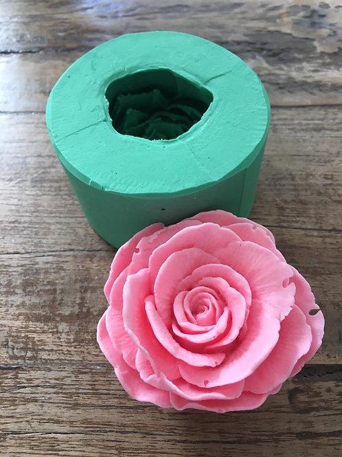 Molde de Silicone - Rosa Luxo