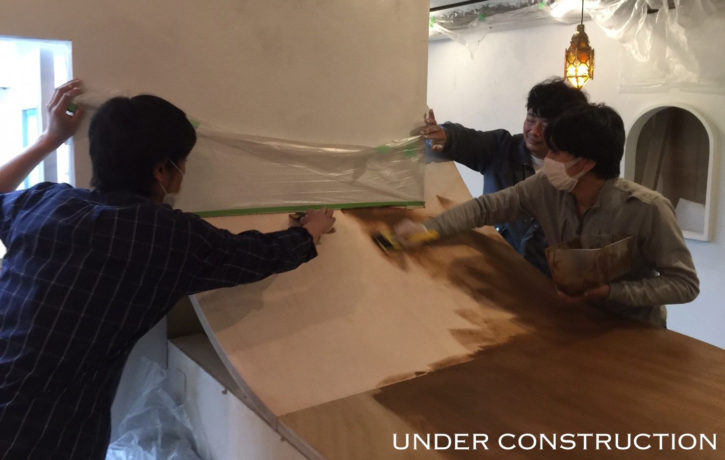 paint underconstruction DIY