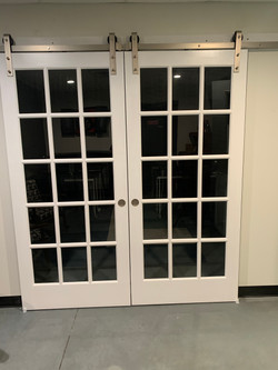 Doors to large meeting space