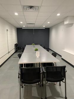 Large meeting space - conference set-up
