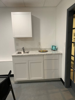 Wet bar in large meeting room