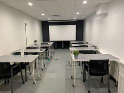 Large Meeting Space - Desk set-up