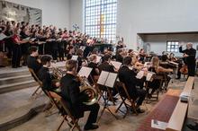Orchester mit Chor, Misa Tango 2019