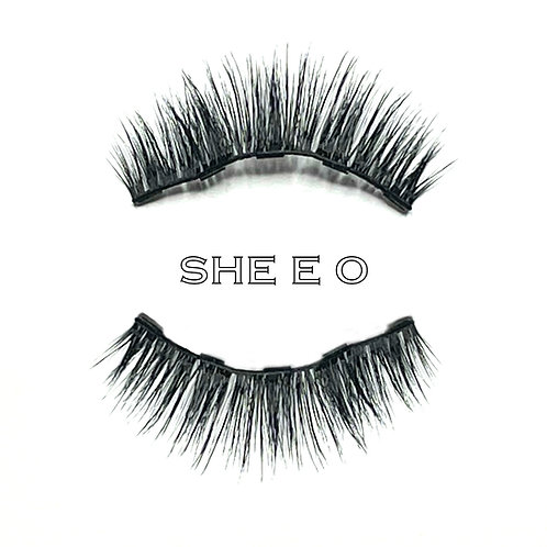 SHE E O - Money Magnet Eyelashes and Magnetic Liner Set
